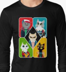 Stranger Cats Long Sleeve T-Shirt