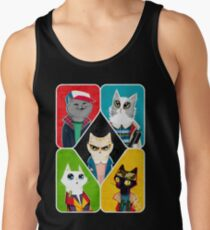 Stranger Cats Tank Top