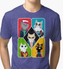Stranger Cats Tri-blend T-Shirt