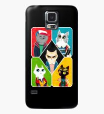 Stranger Cats Case/Skin for Samsung Galaxy