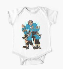 The Aquabats In Action One Piece - Short Sleeve