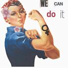 """Rosie the Riveter """"We Can Do It"""" by chngalexa"""