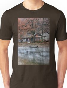 Take me down to my boat on the river Unisex T-Shirt