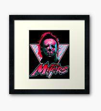 Michael Myers Stay Rad Framed Print