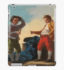 Astillo, Jose Del - Boys Playing Cup-And-Ball iPad Case/Skin