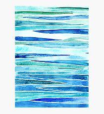 Marine strips Photographic Print