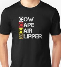 Cow Cape Hair Slipper [Into the Woods] Unisex T-Shirt