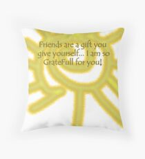 gratefull Throw Pillow