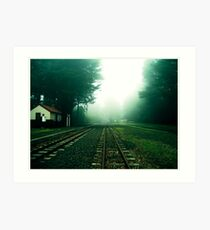 No Trains Art Print