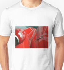 Close up on red shining car Unisex T-Shirt