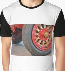 Detail of vintage car wheels Graphic T-Shirt