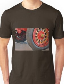 Detail of vintage car wheels Unisex T-Shirt
