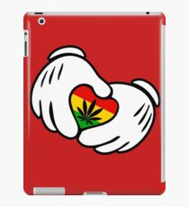 Rasta Weed hands iPad Case/Skin