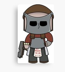 Rust Character in full gear! Canvas Print