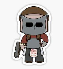 Rust Character in full gear! Sticker