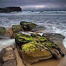 Stormy Seacape by Annette Blattman