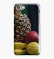 Still life with pineapple Variety Fresh Fruits iPhone Case/Skin