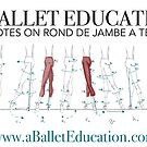 Notes on Rond De Jambe by balleteducation