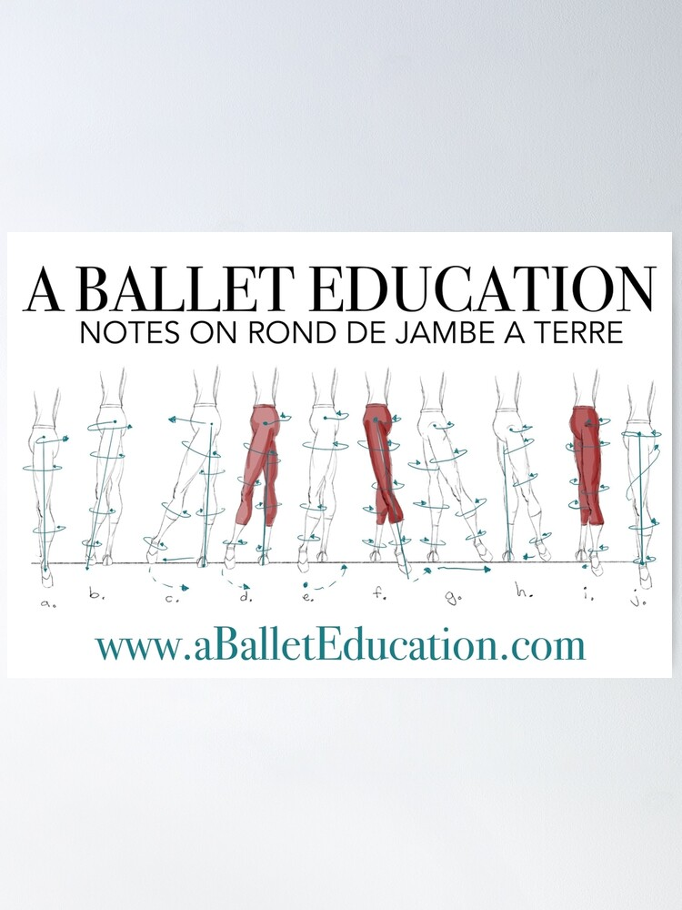 Alternate view of Notes on Rond De Jambe Poster