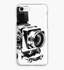 Medium Format Camera (Black) iPhone Case/Skin