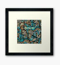 Supreme Sea Worms Framed Print