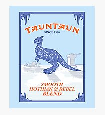 Tauntaun Lights Photographic Print