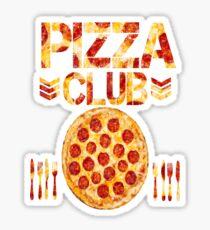 Pizza Club Sticker