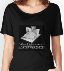 Thank You Agatha Christie... Women's Relaxed Fit T-Shirt