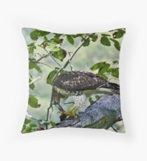 RedTail 2 Throw Pillow