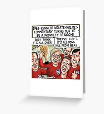 World Cup 1966 Greeting Card