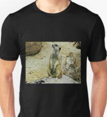 *Meercat -  Open Range Zoo - Werribee, Vic. Australia Unisex T-Shirt