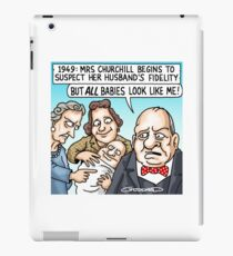 Churchill Baby iPad Case/Skin