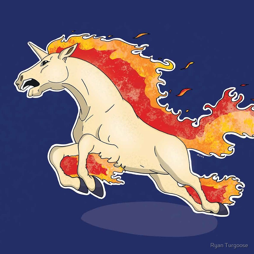 rapidash by rtgoose redbubble