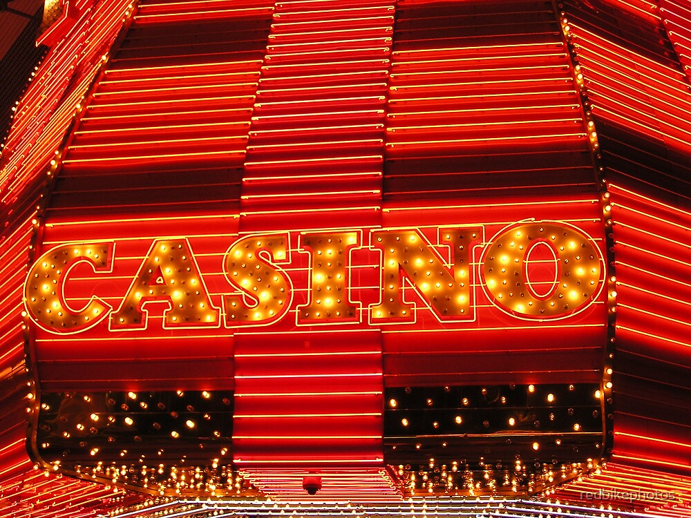 neon casino by redbikephotos