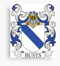 Busts Coat of Arms Canvas Print