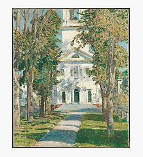 Childe Hassam - The Church At Gloucester Photographic Print