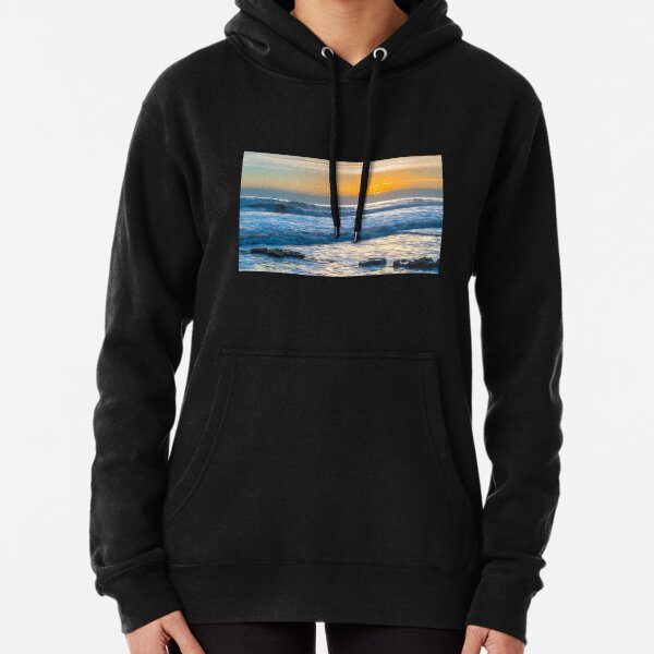 Sunset off Nash Point  Pullover Hoodie