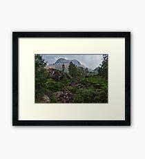 Anamudi mountain, Munnar Framed Print