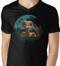 E.T. Mens V-Neck T-Shirt