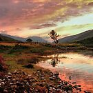Loch Leven Sunset 2 by LisaRoberts