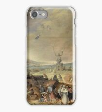 Claes Jacobsz. Van Der Heck - Witches Sabbath, 1636 iPhone Case/Skin
