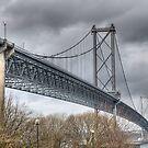 Forth Road Bridge by Ann Garrett