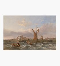 Clarkson Frederick Stanfield - Tilbury Fort--Wind Against The Tide 1853 Photographic Print