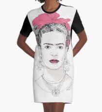 Inspiring Women: Frida Kahlo Graphic T-Shirt Dress