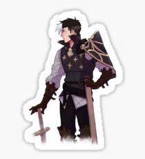 Fire Emblem x Voltron Crossover - Mercenary Shiro Sticker