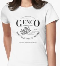 The Godfather - Genko Olive Oil Company Variant Womens Fitted T-Shirt