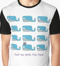 Just Go With The Flow Graphic T-Shirt