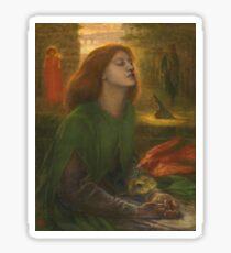 Dante Gabriel Rossetti - Beata Beatrix Sticker
