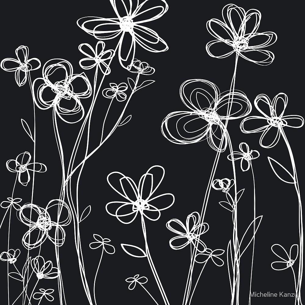 fleurs II by Micheline Kanzy