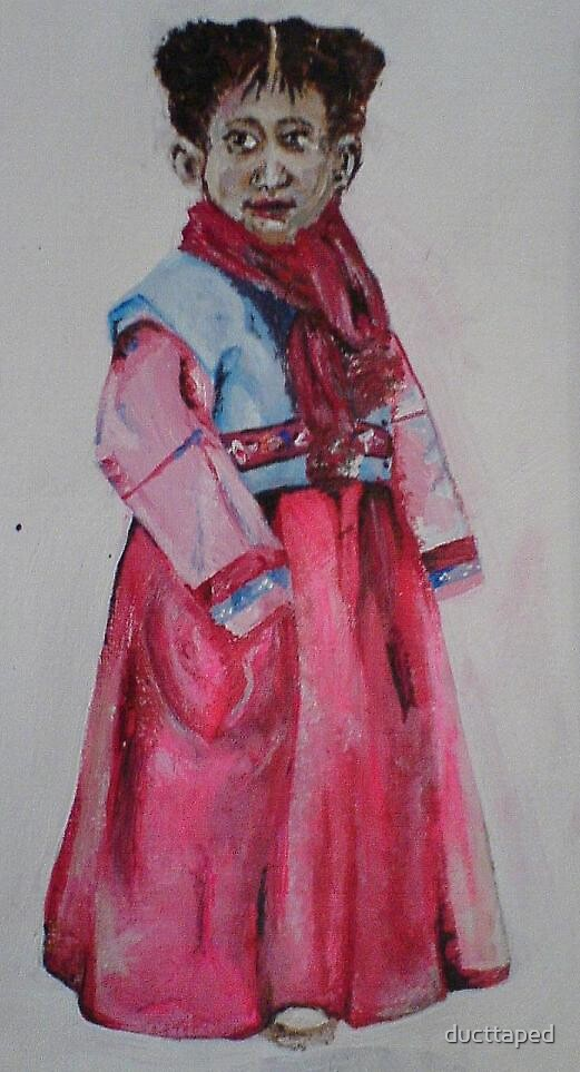 Hanbok by ducttaped